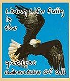 Gift Trenz Living Life Fully... Magnetic Bookmark