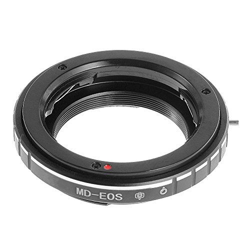 FocusFoto 9th Gen AF Confirm Adapter for Minolta MD MC Lens to Canon EOS EF EF-S Mount Camera 80D 77D 70D 60D 5D Mark II III 5D2 5D3 7D 6D 3000D 1500D 1300D 1200D 800D 760D 750D 700D 650D 100D