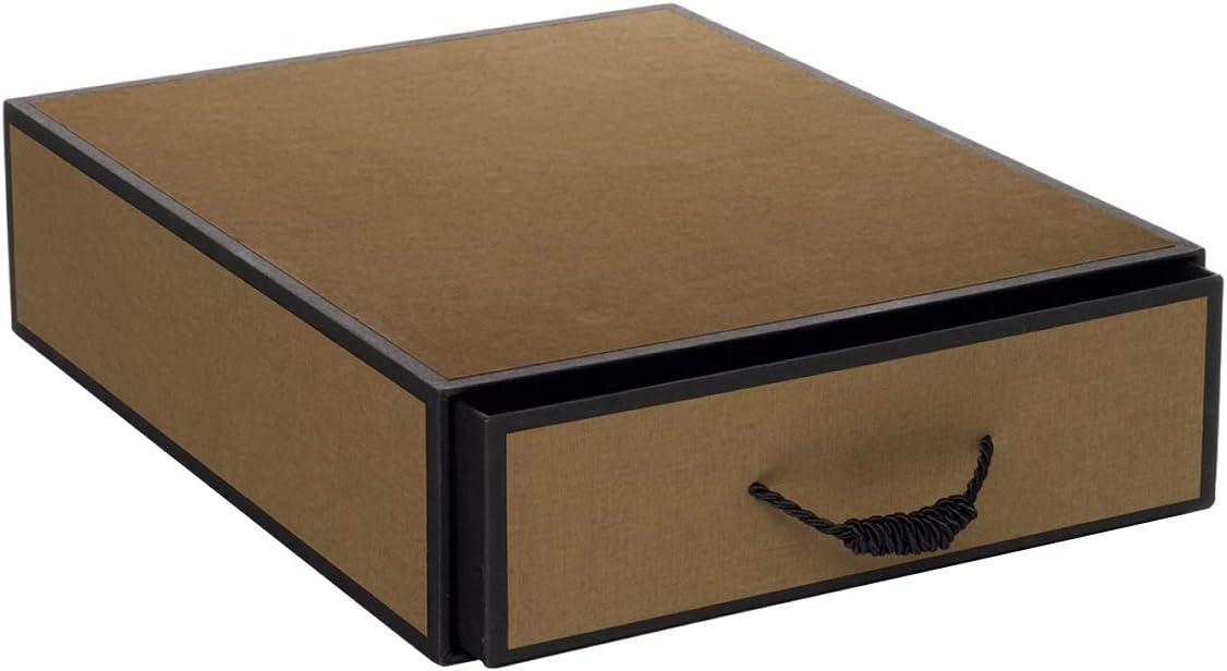 Rössler 1523454302 cajones caja Mayfair, con cordel Mango, turrón de Negro: Amazon.es: Oficina y papelería