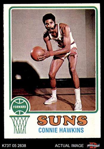 1973 Topps # 43 Connie Hawkins Phoenix Suns (Basketball Card) Dean's Cards 4 - VG/EX Suns