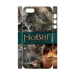 iphone 5S 3D Phone Case White The Hobbit F6565886