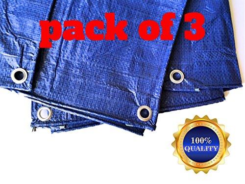 Pack 4x6 Tarp Multipurpose Weather Resistant
