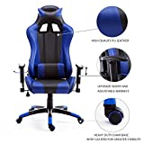 Best Microfiber Sofa With Casters - Gaming Chair High-back Computer Office Chair Swivel Racing Review
