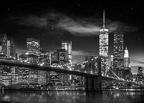 New York - Freedom Tower Black and White Giant Poster