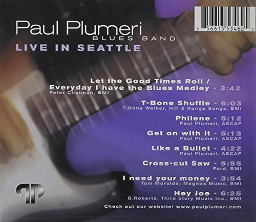 Paul Plumeri Blues Band Live in Seattle by paul plumeri (Image #1)