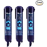 Refrigerator Water Filter by CREIDEA, 3 Pack