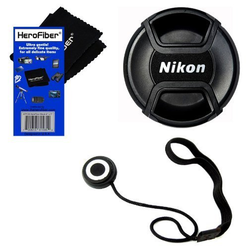 Nikon LC-52 Snap on Front Lens Cap for 18-55mm, 55-200mm, 24