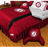 Alabama Crimson Tide NCAA Bedding - Sidelines Comforter and Sheet Set Combo