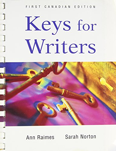 Keys for writers --1998 publication.