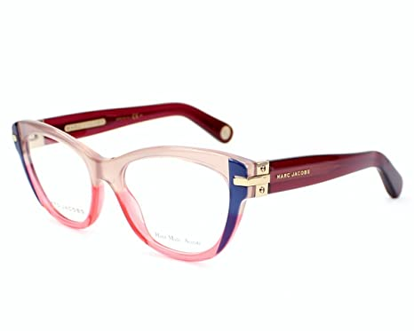 a796baaa15c Marc Jacobs Women s 512 Fashion Dna Blue   Brown   Red   Bordeaux Frame  Plastic Eyeglasses