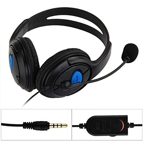 dual big ear Game Stereo Dual Headphones Earphone PC Laptop Gaming Headset with mic microphone for ps4 For Sale