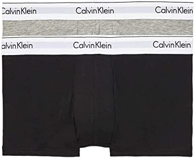 Calvin Klein Boxer Interior Hombre Pack de 2: Amazon.es: Ropa y accesorios