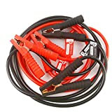 PEATOP Jumper Cables Heavy Duty 10ft 8Gauge 400AMP with Safety Gloves and Travel Bags
