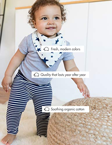 AIKSSOO Baby Boys Girls Summer Pajamas Set Cotton Gauze Shirt and Shorts Sleepwear