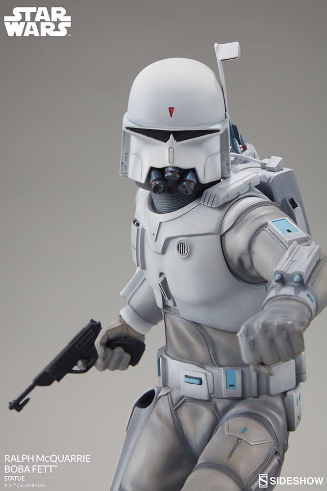 Amazoncom Star Wars Boba Fett Ralph Mcquarrie Statue Toys Games