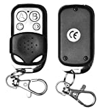 Youcoco 4 Key Wireless Cloning Remote Control Key Fob for Car Garage Door Electric Gate Video Converters