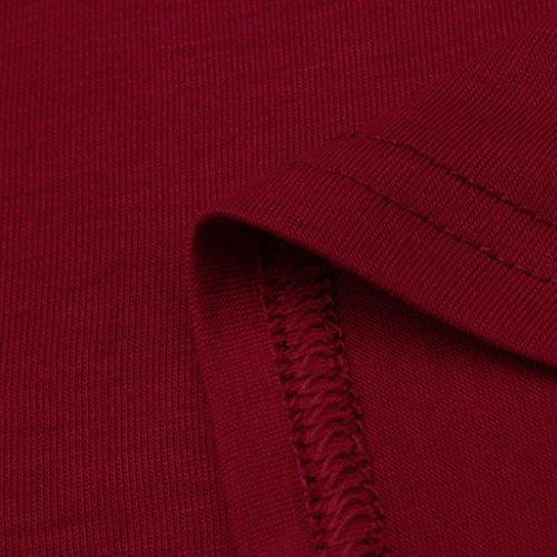 HARRYSTORE Einfarbig❤Falten Nähen❤Casual Kurzarm TShirt Mode Damen ...