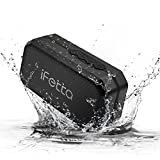 Portable Bluetooth Speaker, Ifecco IPX6 Waterproof Outdoor Wireless Speaker Mp3 Speaker Enhanced Bass Support TF Card FM AUX Mode for Beach & Home