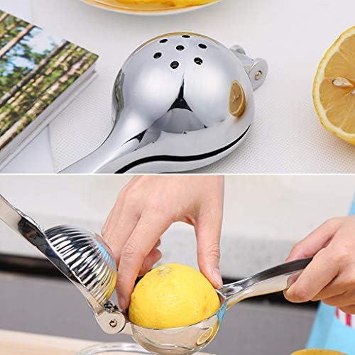 Extractor de Jugo de limón Naranja Manual Pulse Exprimidor limón, exprimidor Exprimidor de Fruta de aleación de Zinc Gadgets de Cocina
