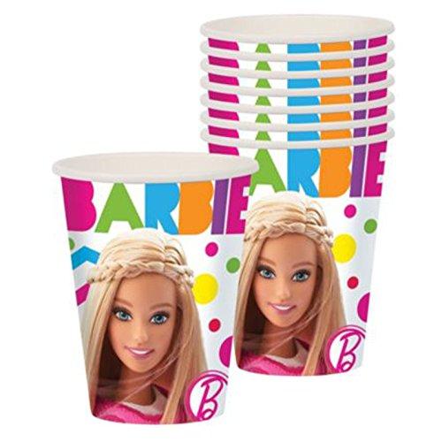 Amscan Barbie Sparkle 9oz Party Cups-8 count