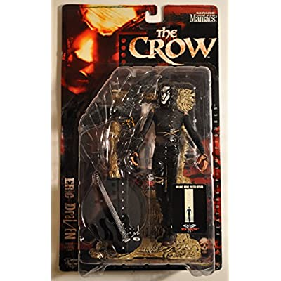 Movie Maniacs 2: The Crow Eric Draven Mcfarlane Action Figure: Toys & Games
