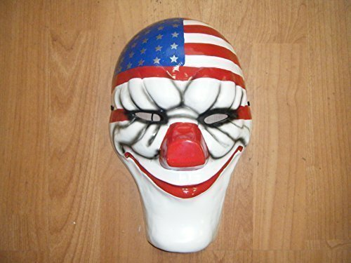 (WRESTLING MASKS UK Dallas - Payday 2 Thermo Plastic - Cosplay)