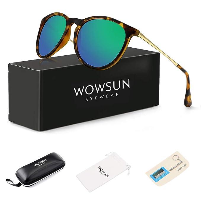 Amazon.com: WOWSUN - Lentes de sol polarizadas para mujer ...