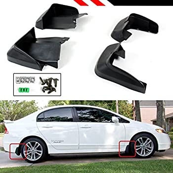 Genuine Honda Accessories 08P00-TR0-100A Splash Guard Kit for Select Civic Models