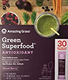 Amazing Grass Green Superfood Antioxidant Organic Powder with Wheat Grass, Elderberry, and Greens, Flavor: Sweet Berry, Box of 30 Individual Serving For Sale