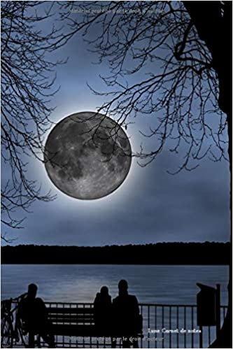 livre pdf gratuit télécharger Lune Carnet de notes: Journal ligné de 119 pages- Une belle idée de cadeau pour vos amis