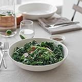 "DOWAN 9.75"" Wide Pasta Bowls, Ceramic Salad Bowls"