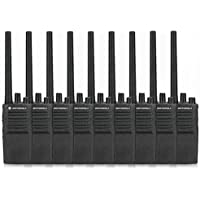 8 Pack of Motorola RMV2080 Two way Radio Walkie Talkies