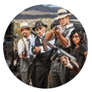 alfombrilla de ratón Riendo 1920 Gangsters Época - ronda - 20cm