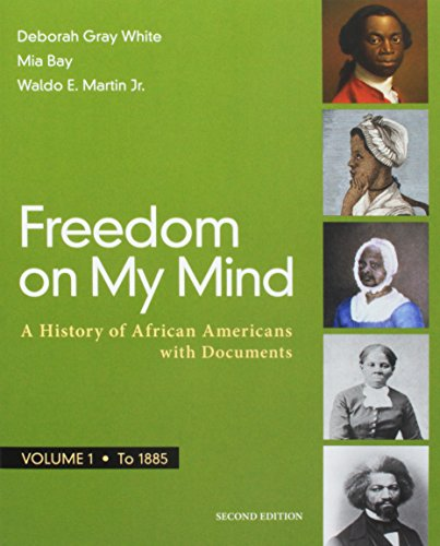 Search : Freedom on My Mind, Volume 1: A History of African Americans, with Documents