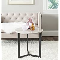 Safavieh Home Collection Ballard Taupe & Black End Table