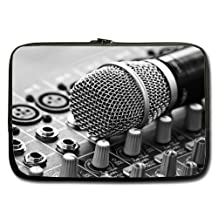 Cheap And Nice 15.6 Inch Laptop Sleeve Controller Microphone Retro (Double-sided,No Straps)