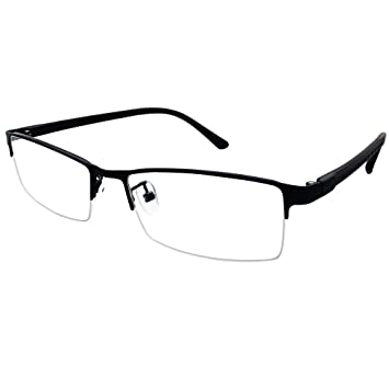 f4509957e8 Southern Seas Half Rim +3.25 Reading Glasses Mens Womens Students Black  Frames Readers Eyewear Spectacles