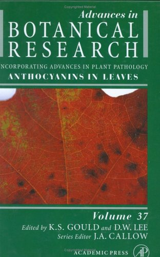 Anthocyanins in Leaves, Volume 37 (Advances in Botanical Research)