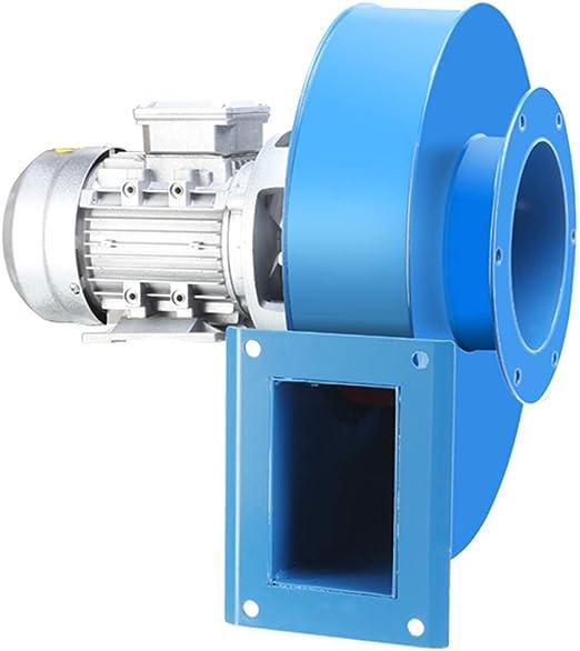 Ventilador centrífugo de acero al carbono, impulsor de placa de ...