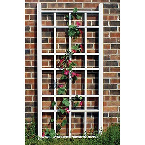 Trellis Vinyl Wall (Dura-Trel Cottage 5.5-ft. Vinyl Wall Trellis)