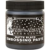 Stampendous gaufrage Dreamweaver Pâte 4oz-matte Noir