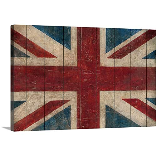 Union Jack Canvas Wall Art Print, 36
