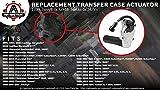 Transfer Case 4x4 Actuator- Replaces