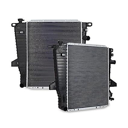 amazon com: 1995-1997 ford ranger v6, manual radiator mishimoto: automotive