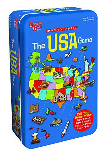 The Scholastic USA Game Tin (Scholastic Games)
