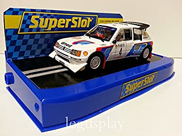 Slot 205 Peugeot Rally T16 E2hornby Coche Monte Carlo Superslot rdWQCEBoex