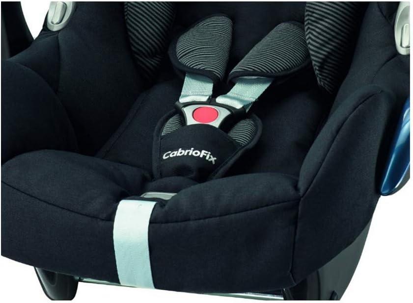 Belt Pads and Step Pad Black Raven Maxi-Cosi Cabriofix Car Seat
