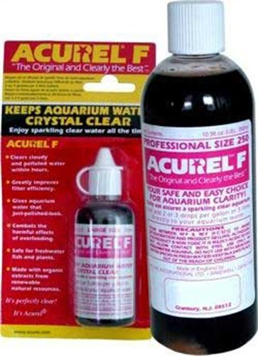 Acurel F25 Millimeter Water Clarifier, Aquarium, Treats 265 Gallons