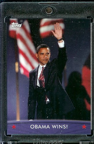 (2008/09 Topps Barack Obama Presidential Trading Card #64 - Very attractive trading card of President Obama)