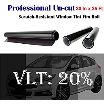 Mkbrother Uncut Roll Window Tint Film 20% VLT 30